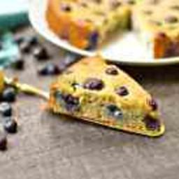 Paleo Blueberry Lemon Cake