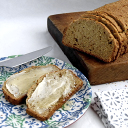 Paleo Bread with Cassava Flour and Linseeds