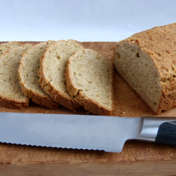 Paleo Bread with Cassava Flour and Linseeds - Grain Free, Nut Free