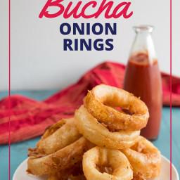 Paleo Bucha Onion Rings
