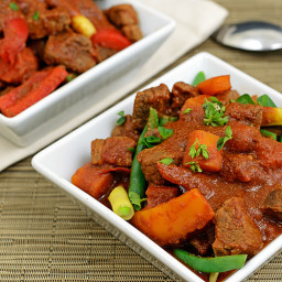 Paleo Caldereta - Filipino Beef Stew