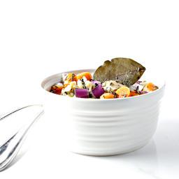 Paleo Chicken and Cauliflower Rice Soup