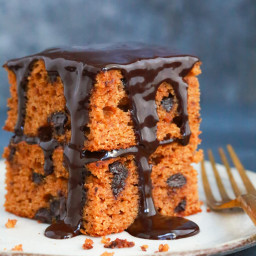 Paleo Chocolate Pumpkin Cake