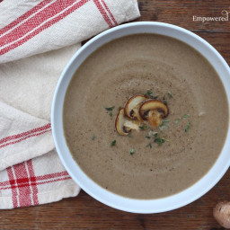 Paleo Cream of Mushroom Soup