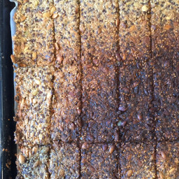 paleo Crisp Flat Bread