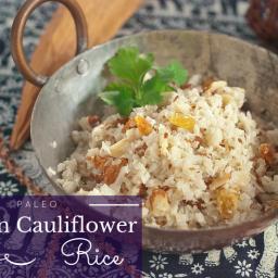 Paleo Cumin Cauliflower Rice