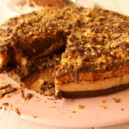 Paleo de-snicker-licious cake