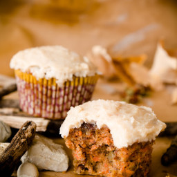 Paleo Diet Carrot Cupcakes (Gluten-free and Dairy-free) – A Caveman or Cave