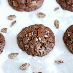 Paleo Double Chocolate Brownie Cookies