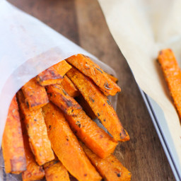 Paleo-Friendly Baked Butternut Squash Fries