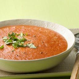 Paleo Gluten-Free Spicy Watermelon Gazpacho
