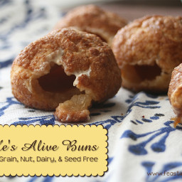 Paleo He's Alive Buns {Gluten, Grain, Dairy, Nut and Seed Free}