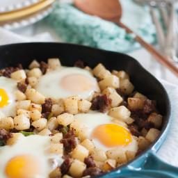 Paleo Jicama Breakfast Skillet