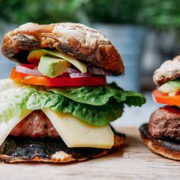 Paleo Mushroom Burgers