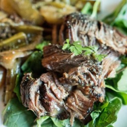 Paleo Pot Roast With Red Wine Reduction
