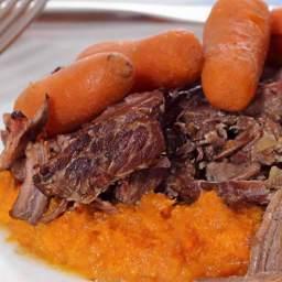 Paleo Pot Roast with Sweet Mashed Potatoes Recipe