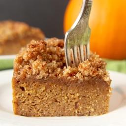 Paleo Pumpkin Coffee Cake