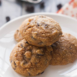 Paleo Pumpkin Cookies with Chocolate Chips Recipe