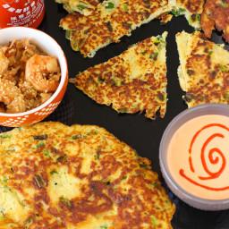 Paleo Scallion Pancakes