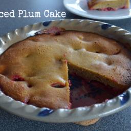 Paleo Spiced Plum Cake (Grain Free, Dairy Free, Nut Free)