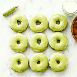 Paleo Spinach Donuts