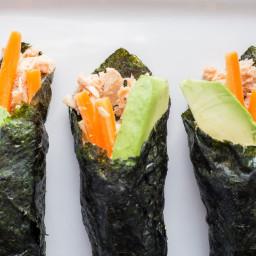 Paleo Tuna Salad Sushi Wraps