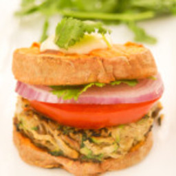 Paleo Zucchini Burger