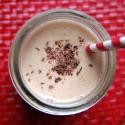 Paleo Banana Chocolate Shake