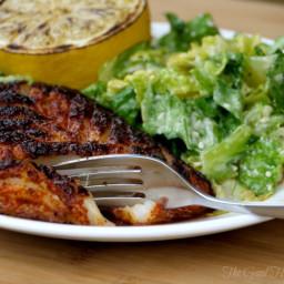 Pan-fried Blackened Rockfish