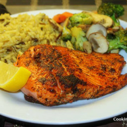 Pan Fried Blackened Trout- Healthy Trout Recipe