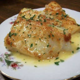 Pan Fried Fish With a Rich Lemon Butter Sauce