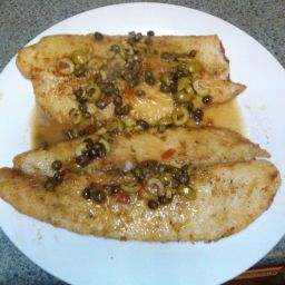 Pan Fried Fish With Lemon and Capers