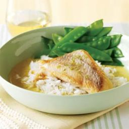 Pan-Roasted Fish with Thai Curry Sauce
