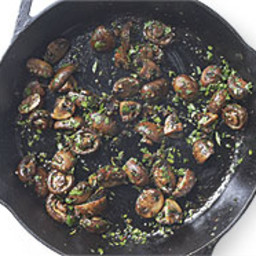 Pan-Roasted Garlic-Butter Mushrooms