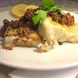 Pan Seared Polenta in Brown Butter
