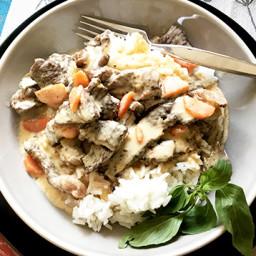 Panang Wagyu Beef Curry Over Jasmine Rice (ONLY POST ON FOODGOGGLE)