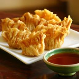Panang Curry Wontons