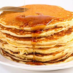 Pancakes (Apple Sauce)