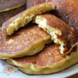 Pancakes with All-Purpose Flour