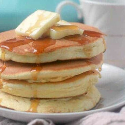 Pancakes without Baking Powder, Fluffy Souffle Pancakes