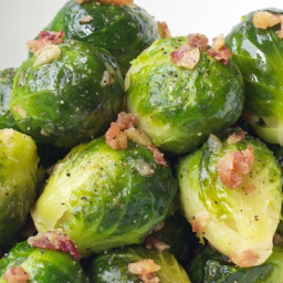 Pancetta Brussels Sprouts