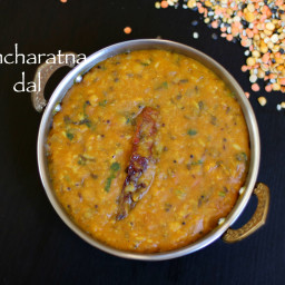 panchmel dal recipe | pancharatna dal recipe