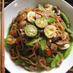 Pancit Canton (Stir Fry Noodles,philstyle)