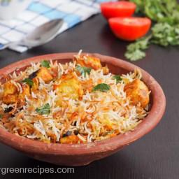 Paneer Dum Biryani Recipe