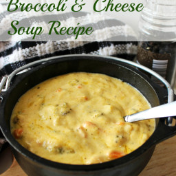Panera Copycat: Broccoli Cheddar Soup Recipe