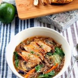 Panera's Soba Noodle Broth Bowl with Chicken - Copy Cat Recipe