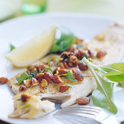 Panfried Trout with Almonds and Parsley