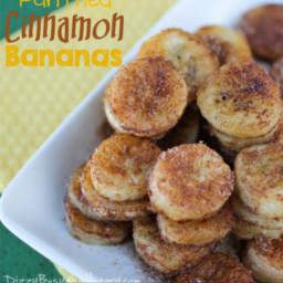 Pan Fried Cinnamon Bananas