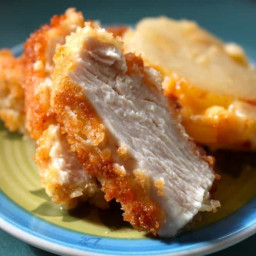 Panko Breaded Juicy Chicken Breasts