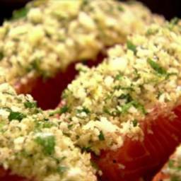Panko-Crusted Salmon